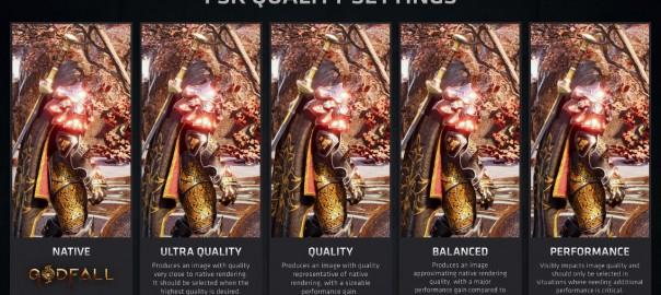 thumbnail_圖一_AMD FSR提供4種品質設定,讓玩家在影像品質與效能之間取得理想平衡